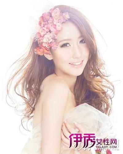 魅力花朵发型设计 轻松变吸睛女王