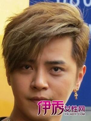 罗志祥酷帅发型 斜刘海修颜又帅气