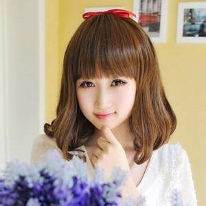 女生圆脸适合的发型图片推荐 清爽又修颜图片