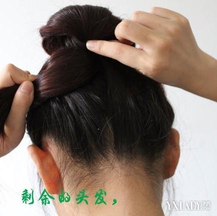 正文  盘头发型图片 简单盘头发型图片 马尾辫 发型 发髻 技巧   步骤