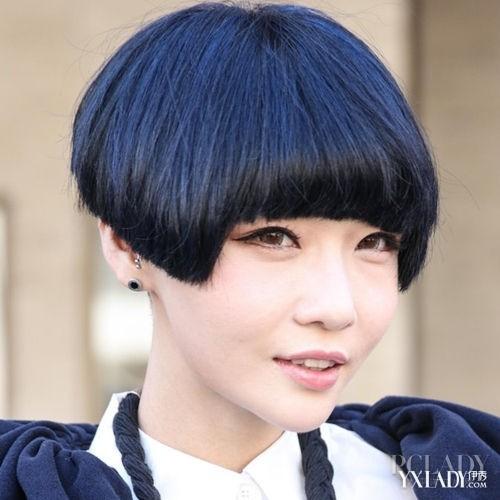 齐刘海bob头最拉风 爸爸去哪儿kimi也爱蘑菇头发型 (500x500)图片