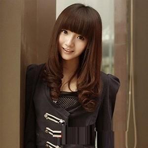 长脸型适合什么样的发型与刘海,有长脸女生适合的长发和短发发型图片