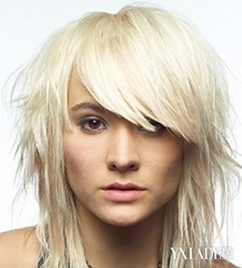 适合长脸女生及适合女生长脸的社会头像推发型发型图片超拽qq图片