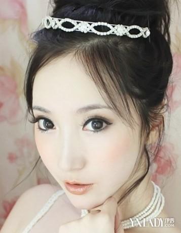 【图】古巨基老婆陈英雪婚纱照曝光妆容精致