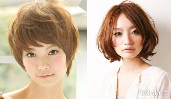 圆脸适合什么发型 2014最新短发发型图片推荐图片