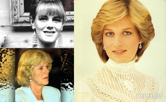 左:卡米拉王妃;右:戴安娜王妃-英国王妃离婚索赔2亿 查尔斯两任娇