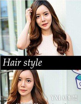 最新最全圆脸长头发梳什么发型图片