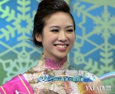 2014港姐冠军邵佩诗疑似整容 削脸骨开眼角【组图】
