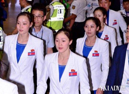 【图】朝鲜美女代表团抵韩惊艳韩媒