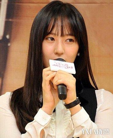 【图】《对我而言可爱的她》热播 教你krystal郑秀晶韩式空气刘海怎么图片