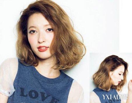 唯美中长发发型图片 短发也能艳压全场