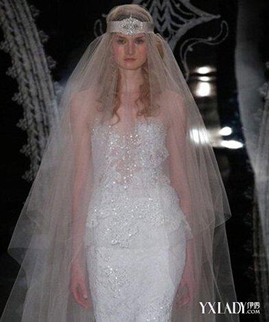 世界上最长的婚纱是陪伴 唯美的新娘头纱发饰推荐