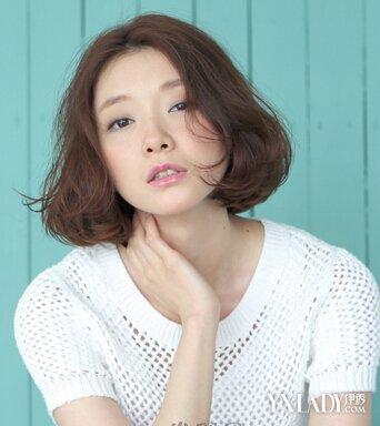 【图】女生韩式短发烫发发型那款简单又时尚?