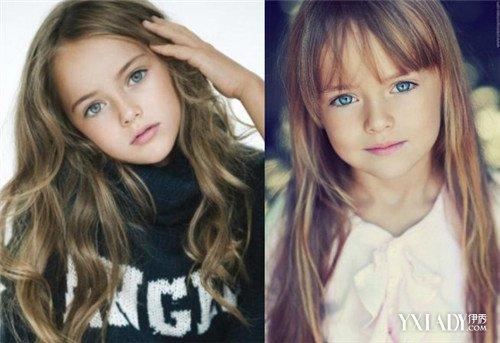 【图】俄罗斯9岁小萝莉成国际超模 女生学画欧美混血妆变娃娃