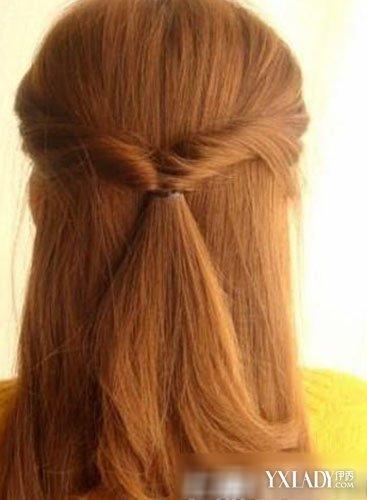 【图】公主发型扎法教你头型头直发璎珞扎法魏发型长发图片