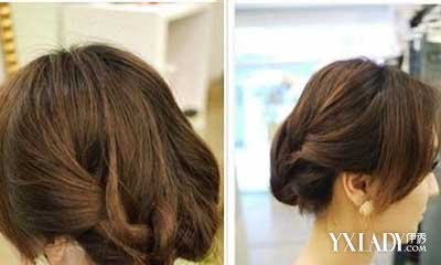 【图】中短发怎么扎好看 简单中短发发型扎法图解可爱图片