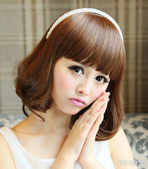 【图】短发梨花头发型图片分享 修颜瘦脸发型值得一试图片