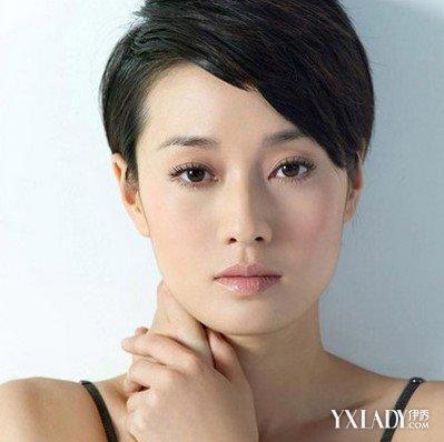 马伊琍发型 马伊琍减龄短发秀 显嫩不失女人味