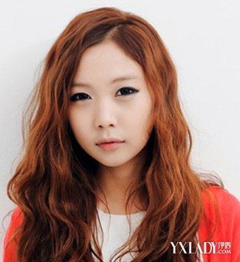 【图】中长发蛋卷头发型 韩国流行发型精选(3)_伊秀网图片