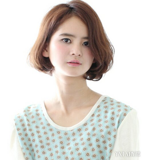 【图】最适合圆脸mm的短发发型 圆脸发型设计图片