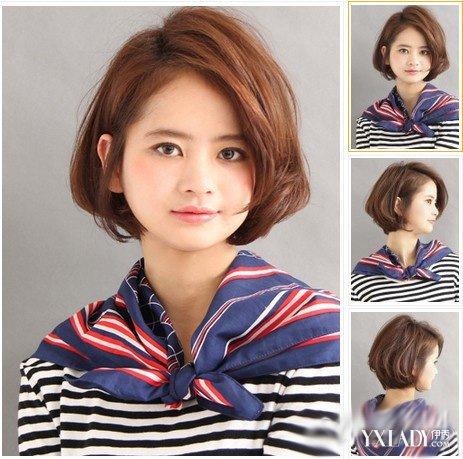【图】女生短发发型设计图 女生时尚蓬短发夏日可爱萌萌哒
