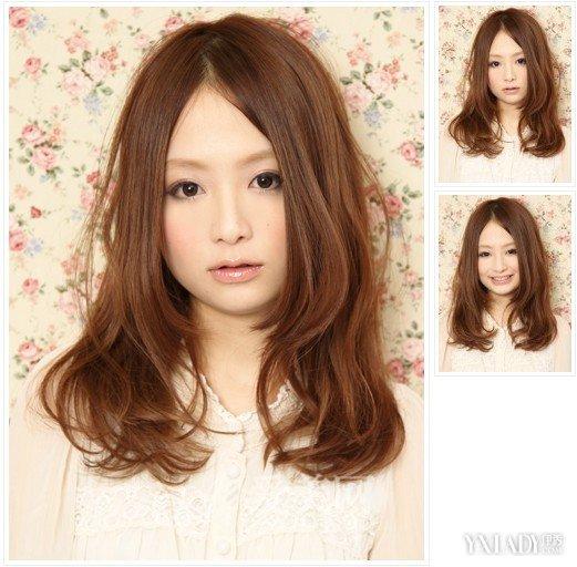 【图】女士国字脸发型设计图片图片