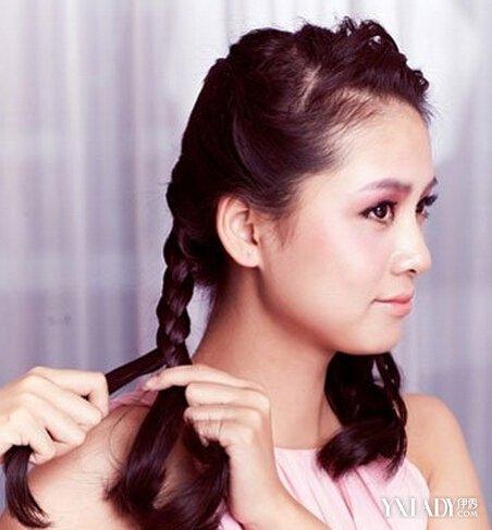 【图】韩式优雅甜美新娘盘发步骤教程 新娘发型教程图片