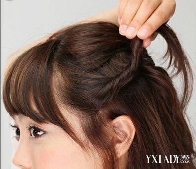 齐肩短发怎么扎好看 唯美韩式齐肩短发发型扎法图解