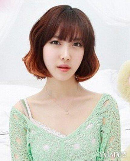 【图】女士清纯男生编发短发女生短发型设计地沟发型头烫发图片