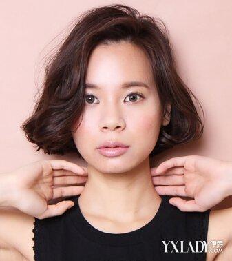 【图】陈妍希称包子脸挺好适合你阳光告诉什颜色圆脸什么下有的头发图片