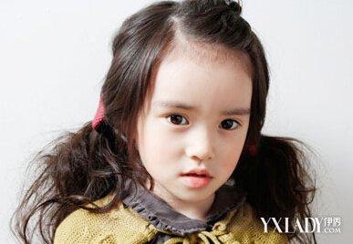 时尚小女孩发型设计