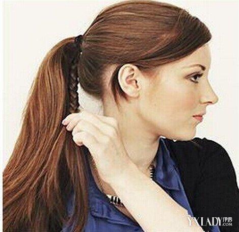 【图】长头发怎么扎好看 冬季韩式长发马尾辫的简便扎图片