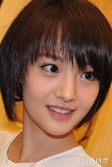 【图】郑爽短发图片 郑爽短发发型造型图片