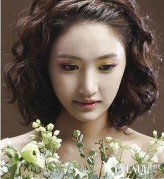 【图】韩式短发新娘发型视频图片