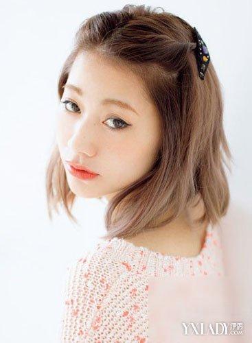 中短发发型扎法图片 diy轻熟女减龄女生发型图片