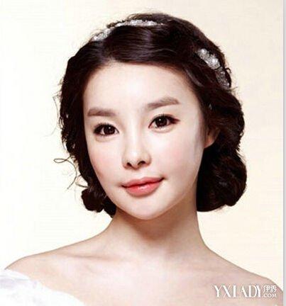 韩式婚纱照新娘发型 打造美时尚新娘