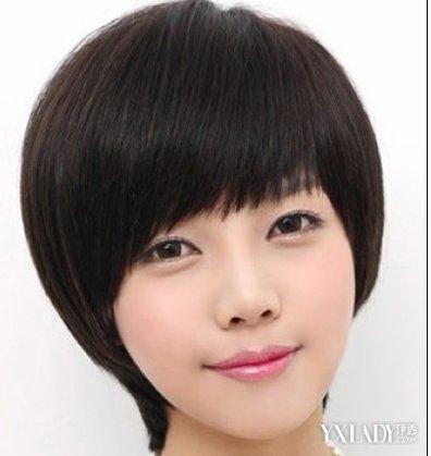 【图】瓜子脸短发型设计 三款适合瓜子脸的短发发型图片