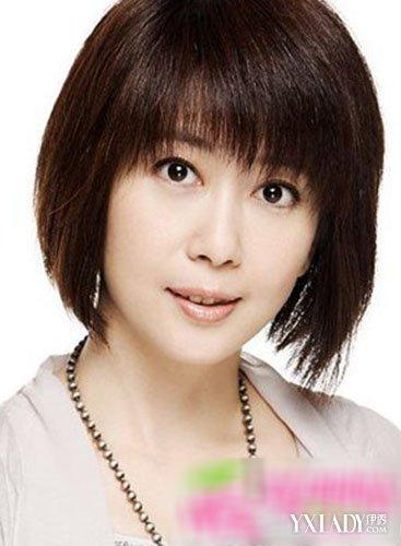 中年女性发型设计 减龄的年轻成熟发型图片