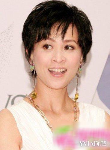 【图】中年女性发型设计 减龄的年轻成熟发型图片