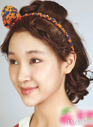 女孩短发发型扎法图解 一起欣赏漂亮的魅力短发的发型图片