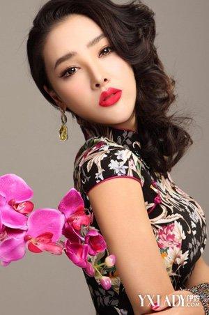 旗袍发型图片集锦 图解美10款旗袍发型