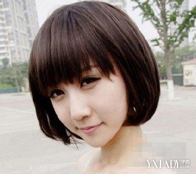 适合长脸女生短发发型 潮流时尚
