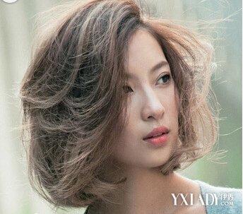 圆脸适合的短发造型 女神级短发发型设计