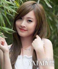 【图】女生斜刘海发型图片,改善脸型的不足图片