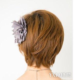 短发怎么扎好看图片  留着短发发型的妹纸,是不是也觉得总是任由头发