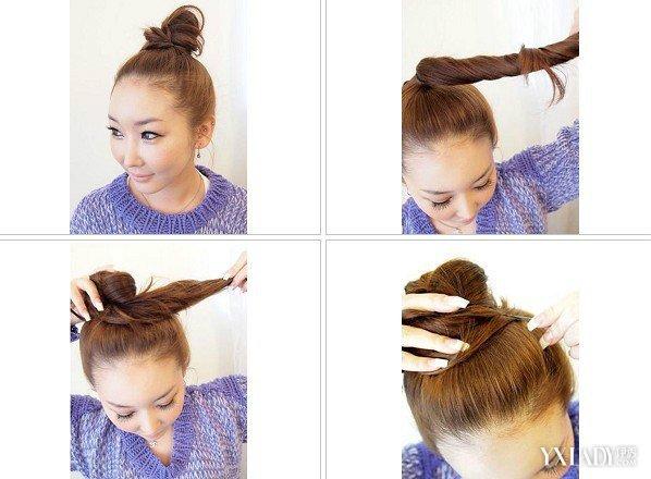 学习各种扎头发图片