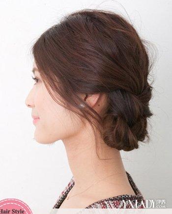 学习扎各种简单发型 2款扎发简单又气质图片