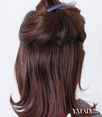 【图】学习扎各种简单发型 2款扎发简单又气质图片