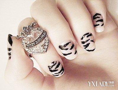 【图】豹纹指甲图片 两款时尚豹纹指甲展现时尚魅力