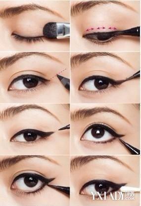 【图】画眼线的技巧图解